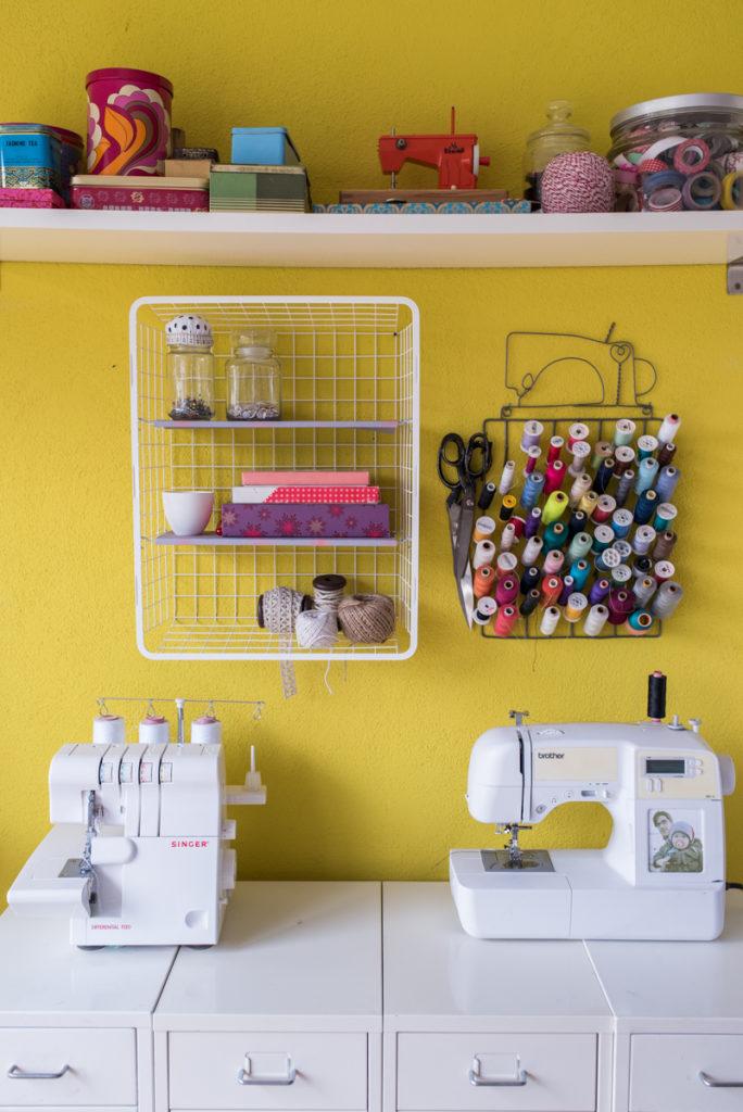 Anleitung für ein DIY Ikea hack Regal aus einem Metallkorb