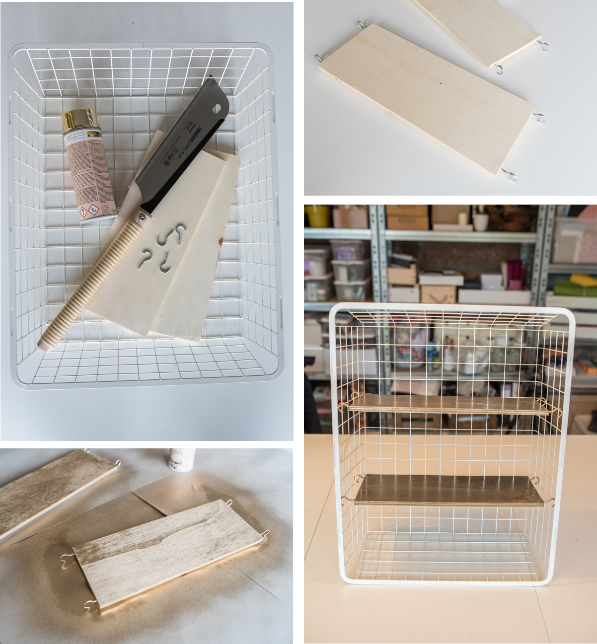 DIY  Wandregal (kleiner IkeaHack)  Leelah LovesLeelah Loves -> Ikea Wandregal Hack