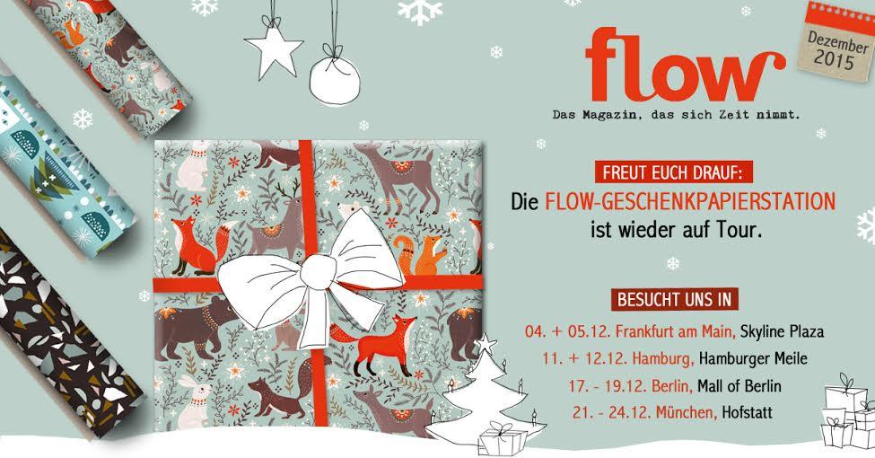 Flow Geschenkpapierstation