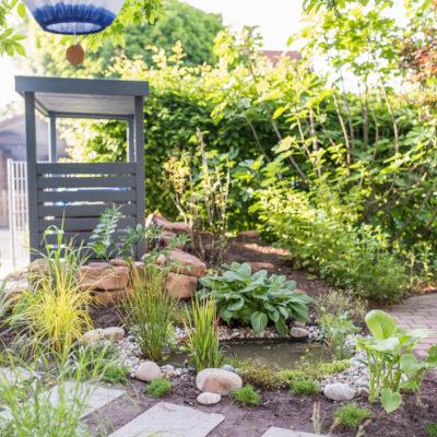 Mein kleiner Teich im Garten und ein Gewinnspiel für euch