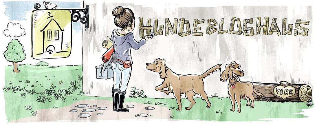 Zuhause bei Danni vom Hundebloghaus