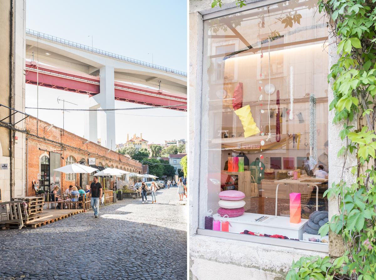 Shopping und Entdeckungstour durch Lissabon