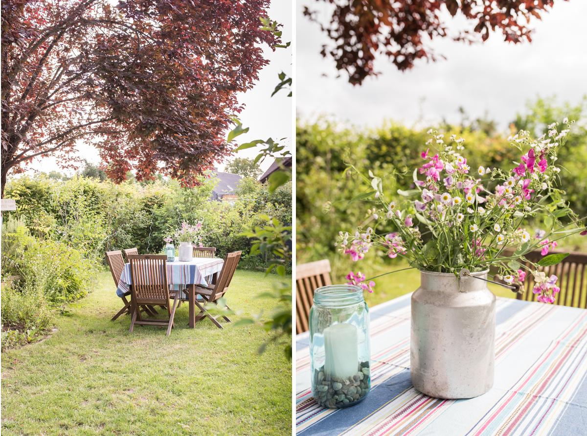 Dekoideen für den Garten im Sommer