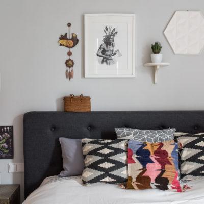 Kleine Sommer-Hometour: Deko im Schlafzimmer