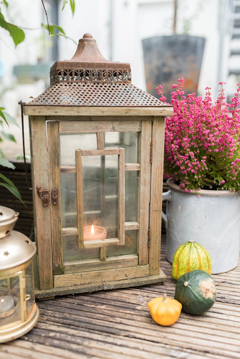 Deko Ideen für den Garten im Herbst