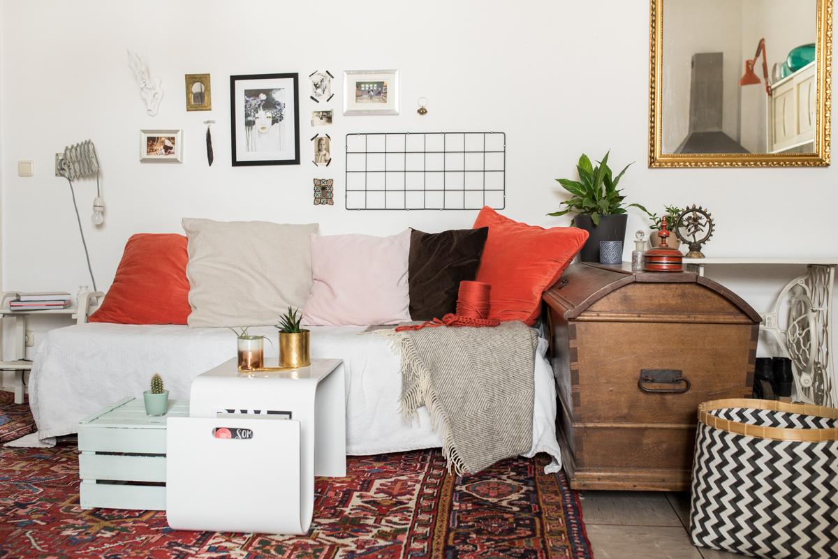 Zuhause bei anna vom Blog annablogie mit Dekoideen im Boho vintage Look