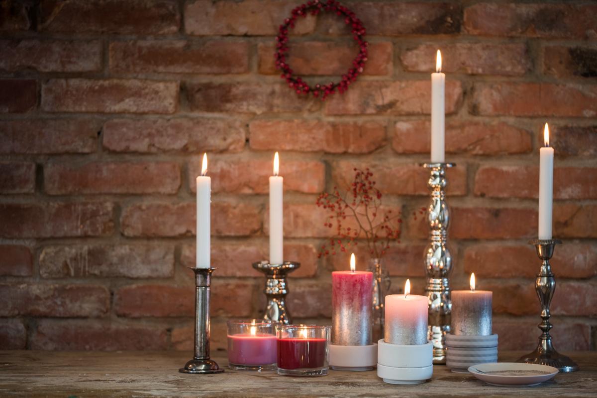 Dekoideen für das Wohnzimmer zu Weihnachten im vintage Stil