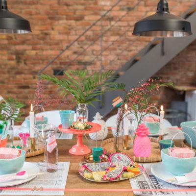 Knallbunt zum Jahresende – Silvester Tischdeko mit RICE und ediths