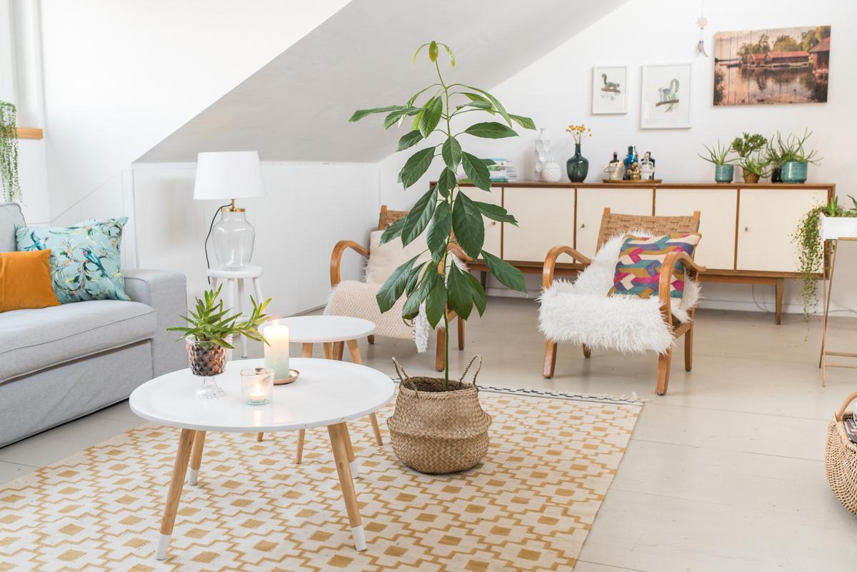 2017 01 23 vintage deko wohnzimmer 5 leelah loves for Deko ideen mit pflanzen