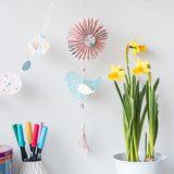 DIY – kleiner Frühlingsgruß aus Papier