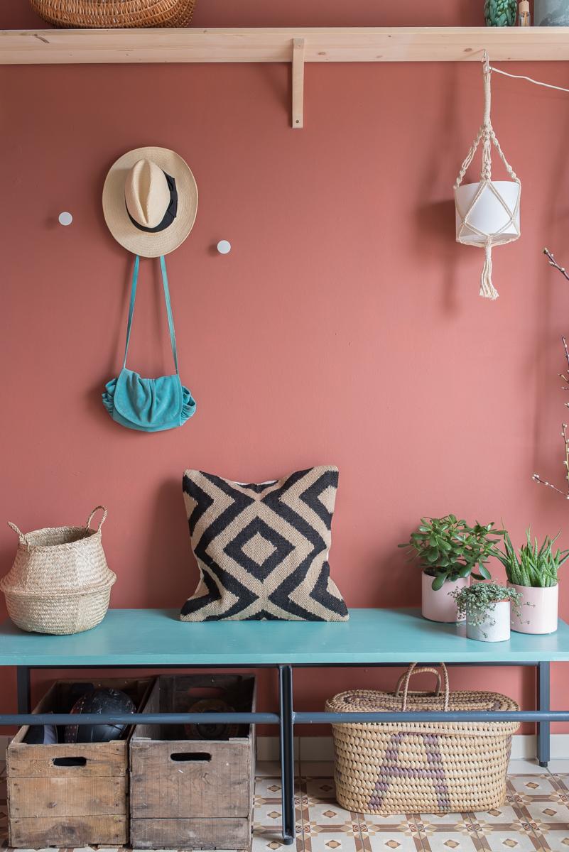 Neue farbe im flur leelah loves for Wandgestaltung farbe