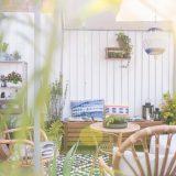 Meine Boho Lounge auf dem Balkon