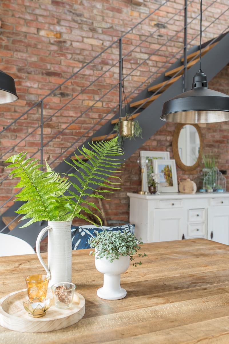 Dekoideen mit Pflanzen im Wohnzimmer - Leelah Loves