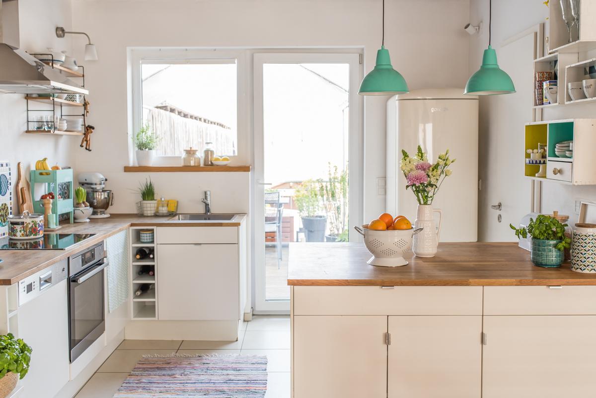 bilder aus meiner sommerk che f r das magazin sch n hier von depot leelah loves. Black Bedroom Furniture Sets. Home Design Ideas