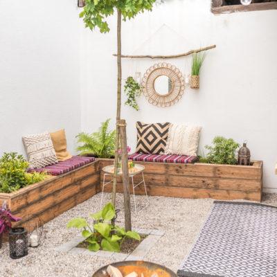 DIY Terrassen makeover – vorher/ nachher (Teil 2)