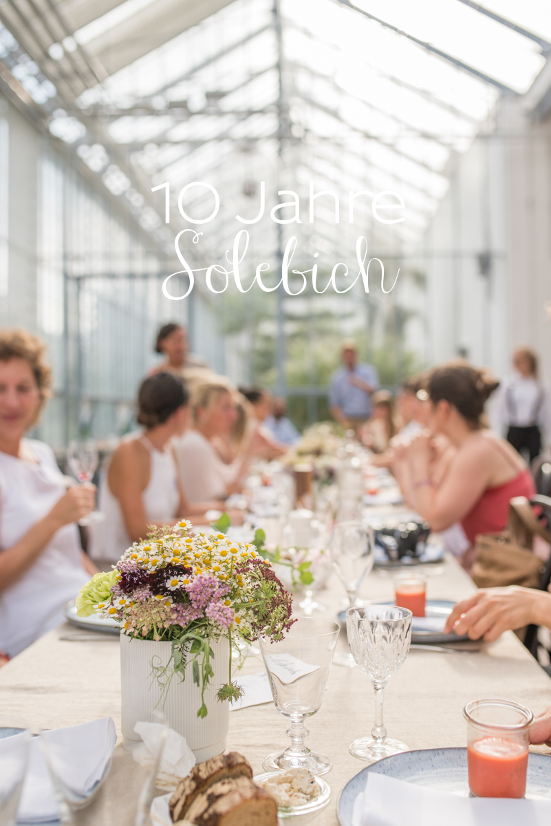 Bilder vom 10 Jahre Solebich Jubiläum in München