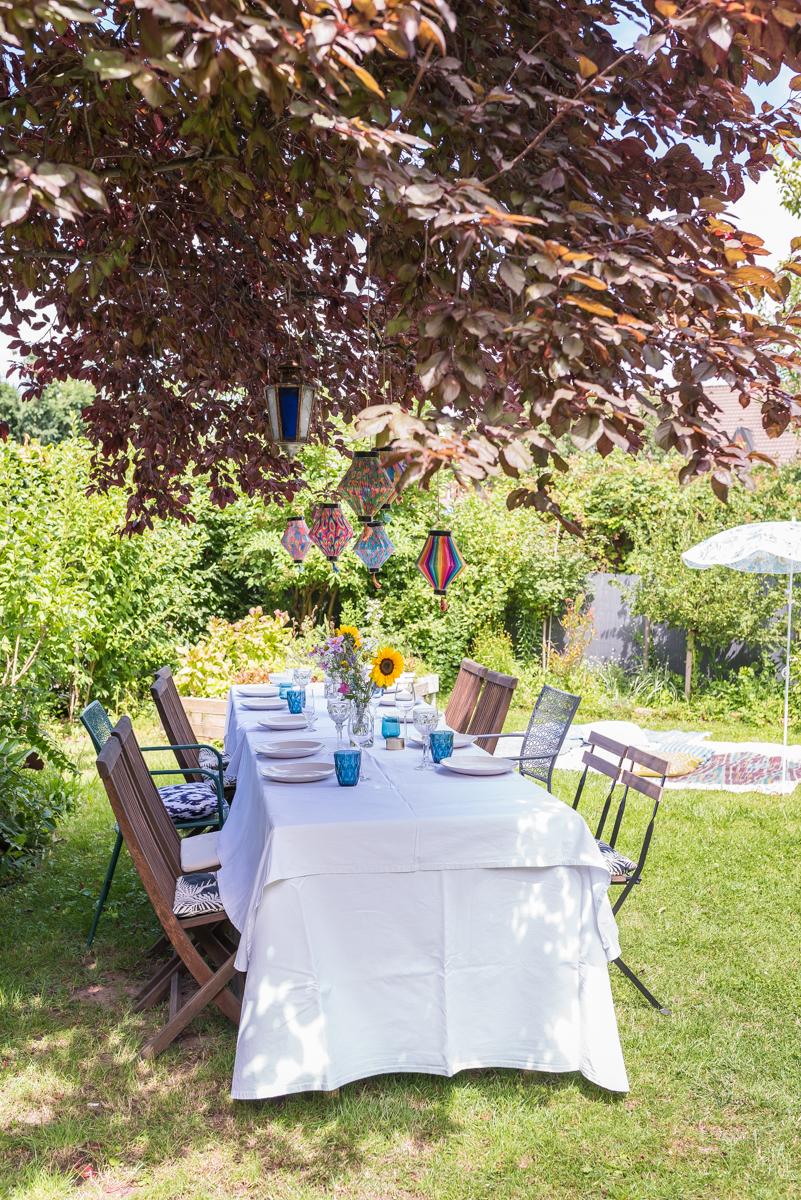 Gartenparty deko und ein leckeres rezept als vorspeise f r for Dekoration tauschen