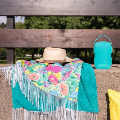 DIY – Strandtuch mit Fransen
