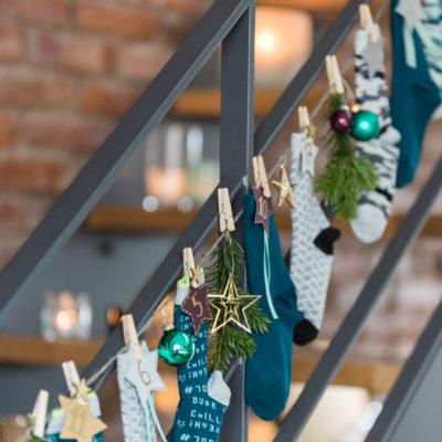 Schnell und praktisch: DIY Adventskalender mit Socken