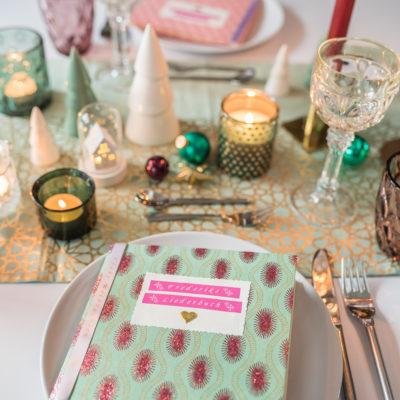 DIY – Liederbuch für eure Tischdeko an Weihnachten und Gewinnspiel