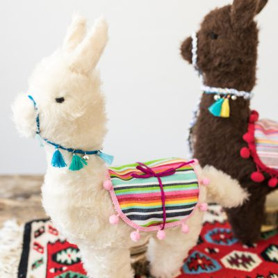 DIY - Geschenke: Alpaka Kuscheltier nähen