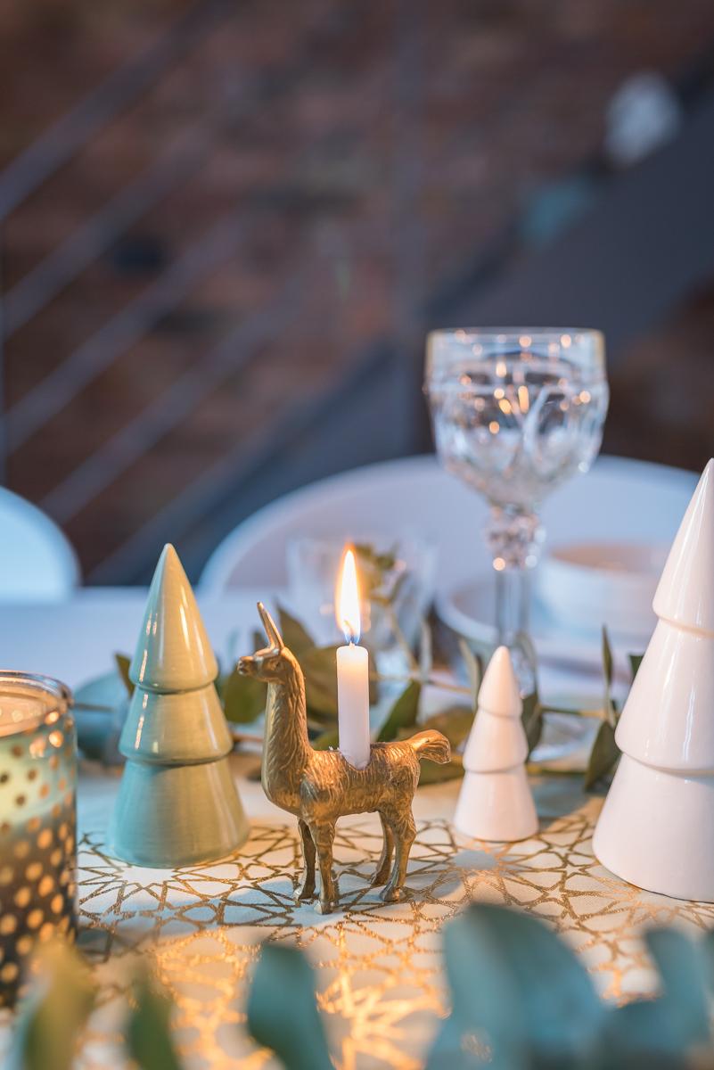 meine tischdeko f r weihnachten in mintgr n und gold. Black Bedroom Furniture Sets. Home Design Ideas