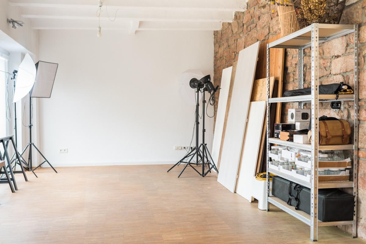 Dekoideen für den kreativen Arbeitsplatz im Büro im vintage Look mit homeoffice, Atelier und kleinem Fotostudio