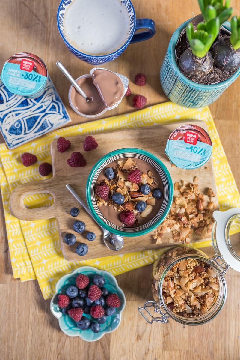 Tipps und Rezepte zum Thema zuckerfreie bzw. zuckerreduzierte Ernährung mit leckerem Frühstück