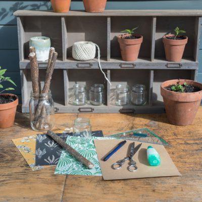 DIY - Pflanzschilder für das Kräuterbeet