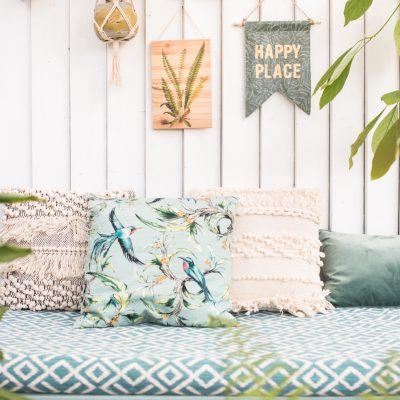 DIY – Botanik Wanddeko aus Holz für den Balkon