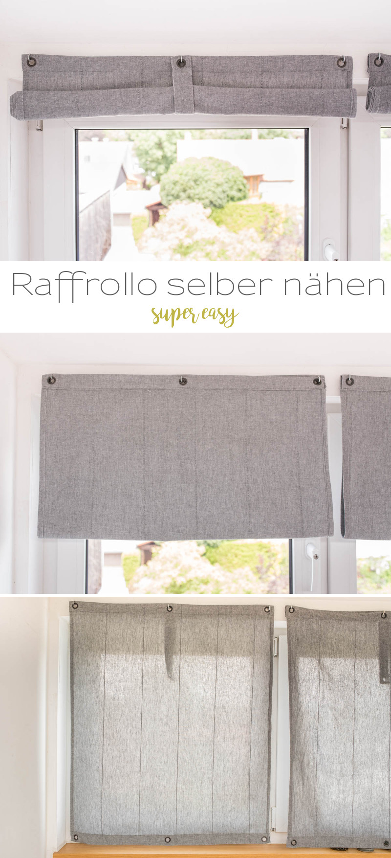raffrollo lang simple wohnideen erstaunlich fenster sichtschutz rollo bambus holz rollo. Black Bedroom Furniture Sets. Home Design Ideas