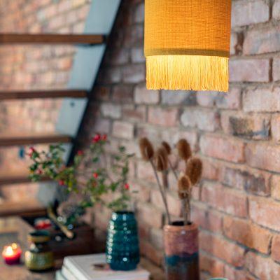 DIY - Fransen Lampe