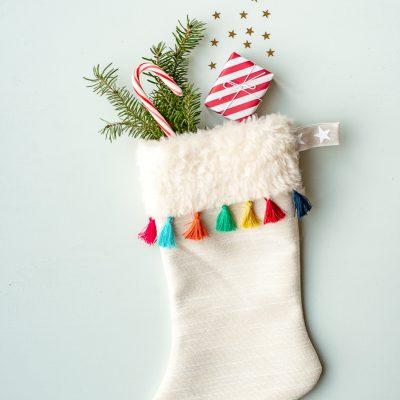 DIY - Nikolausstiefel mit Quasten nähen