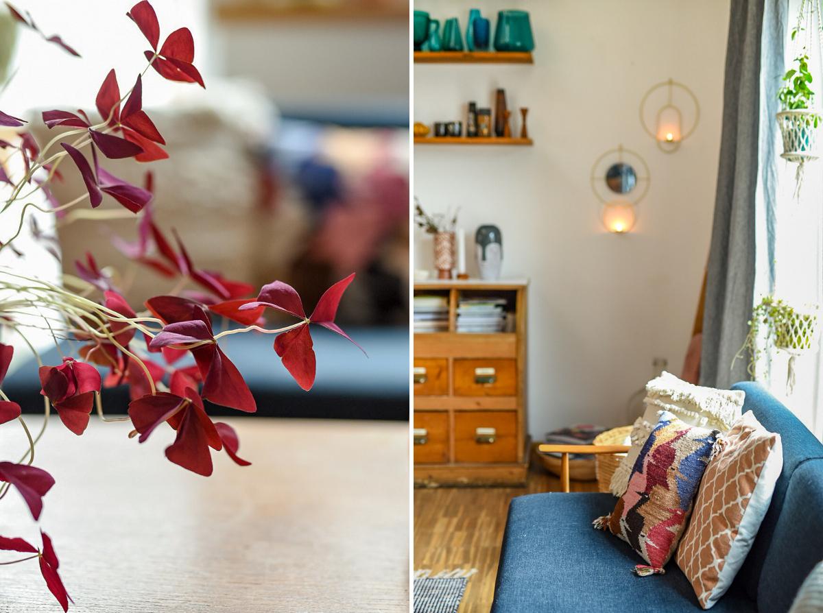 Tipps und Dekoideen für Deko nach Weihnachten im Wohnzimmer im vintage Look