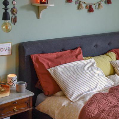 Deko im Winter Schlafzimmer