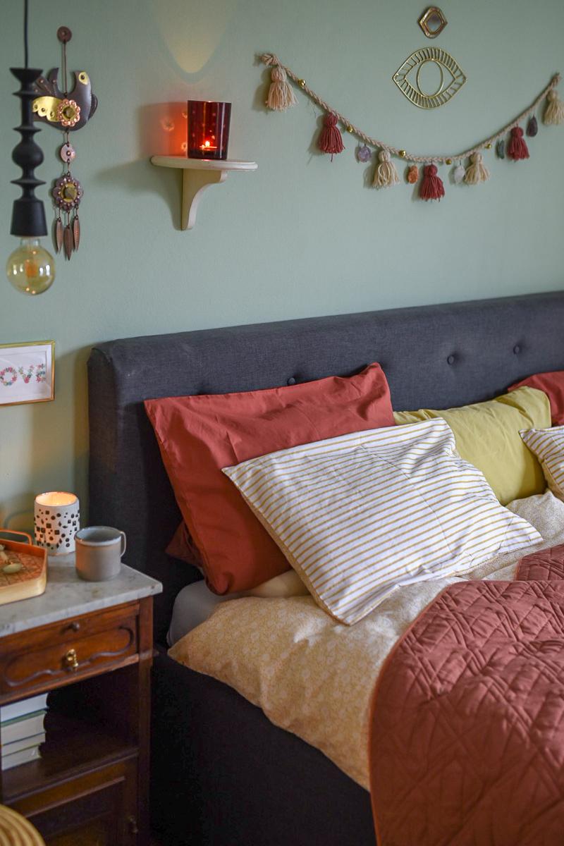 Deko im Winter Schlafzimmer - Leelah Loves