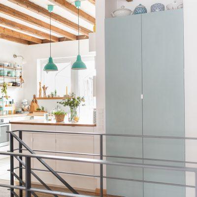 DIY - kleiner Aufwand, große Wirkung: IKEA Schranktüren streichen