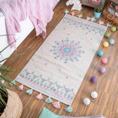 DIY - Teppich im Boho Look für das Kinderzimmer
