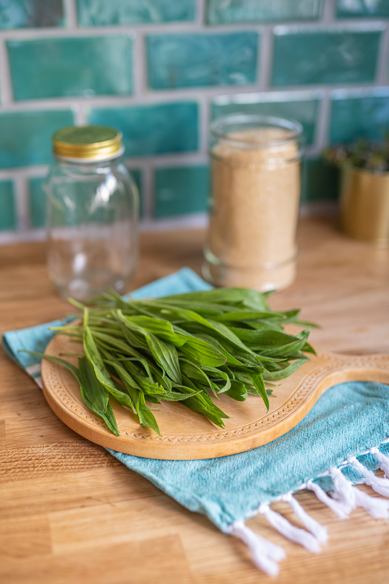Rezept für selbstgemachten Hustensirup aus Spitzwegerich als altes Hausmittel für die Erkältungszeit für Kinder