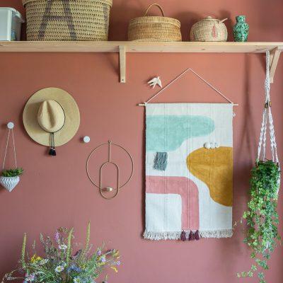 DIY Projekte mit Teppichen: Wanddeko