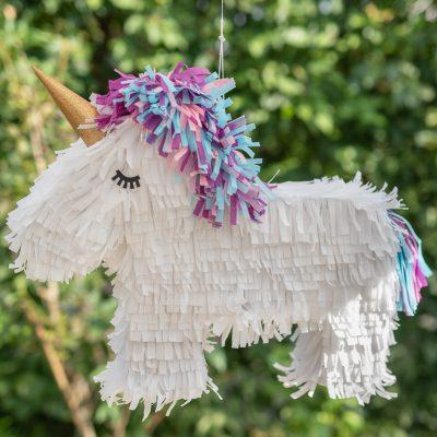 DIY - Einhorn Pinata für den Kindergeburtstag
