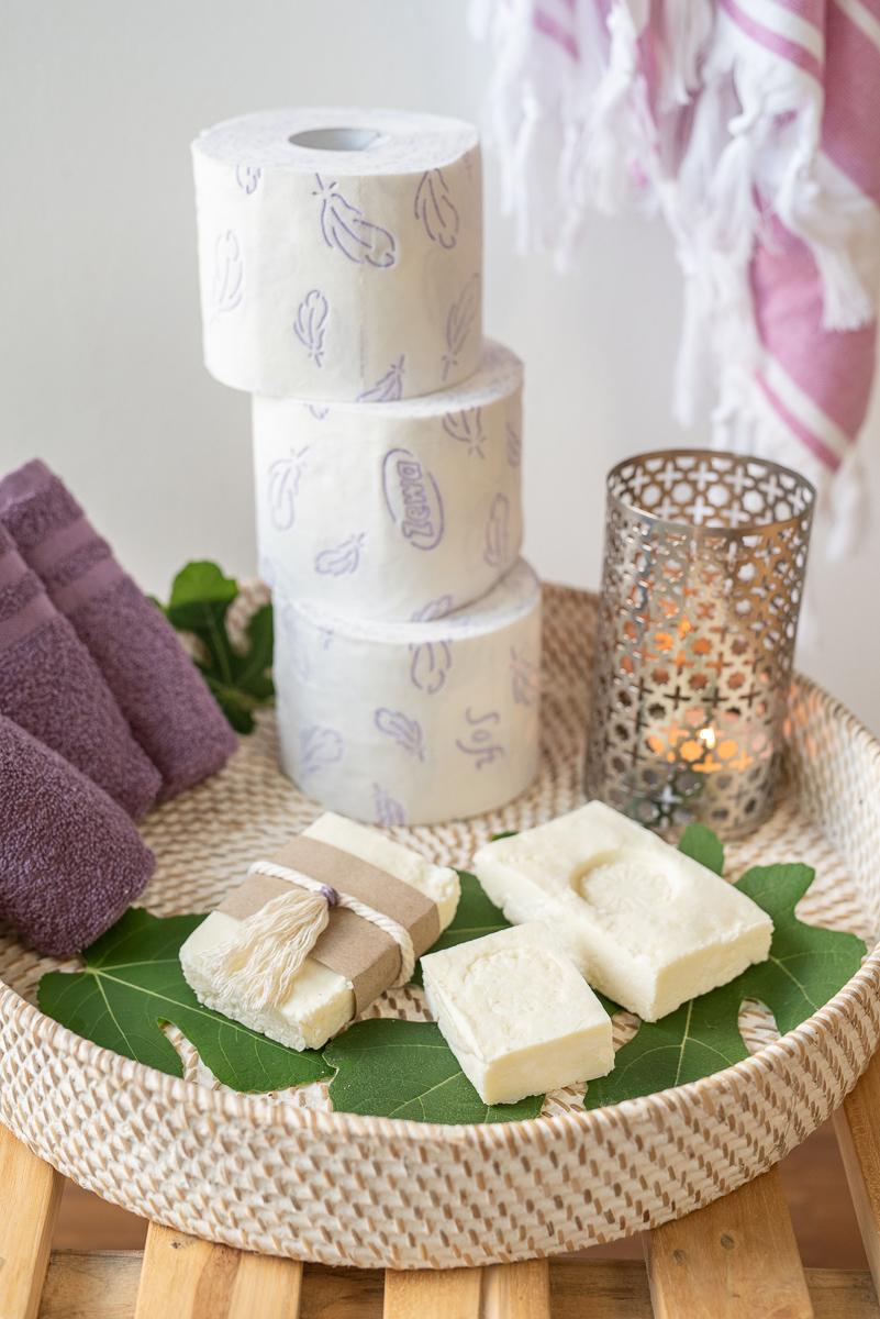 einfaches Rezept für selbstgemachte Seife mit Feigen Duft aus Kernseife und ätherischem Öl (enthält Werbung)