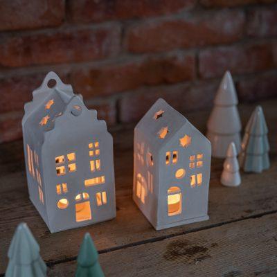 Mein Töpfertagebuch (8): Anleitung für Lichthäuser aus Ton als Weihnachtsdeko
