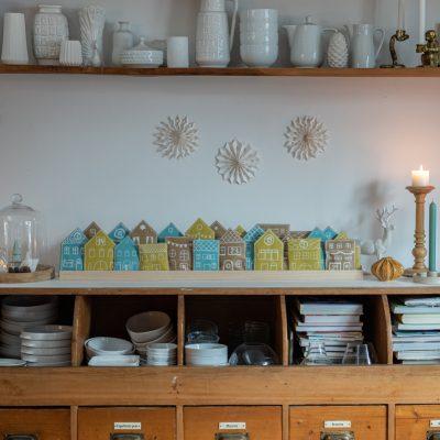 DIY - Adventskalender Häuser aus Papiertüten