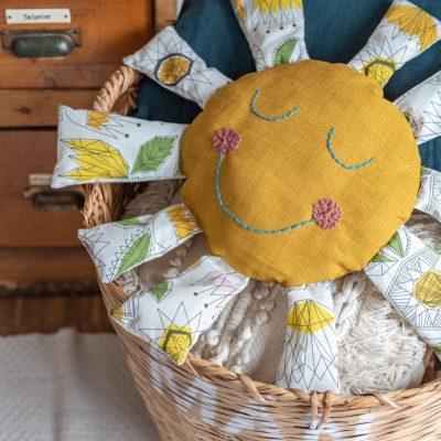 DIY - Kuschelkissen für Kinder nähen