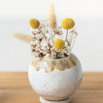 DIY - Töpferanleitung: Kugelvase und Blumentopf töpfern