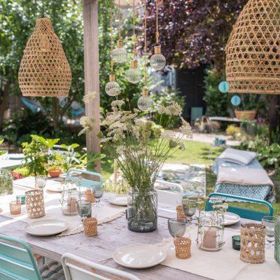 Sommerdeko für die Gartenparty