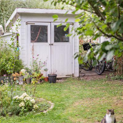 Ordnung im Gartenschuppen und DIY Werkzeugkasten