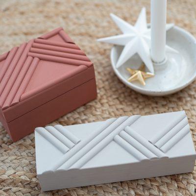 DIY - Geschenke: Schmuckdosen aus Holz
