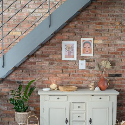 Schnelles makeover: Möbel mit Kreidefarbe streichen